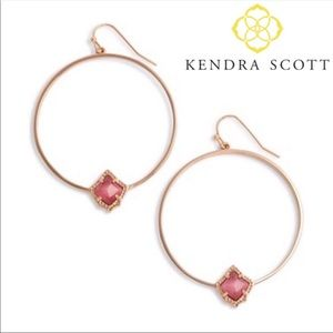 Kendra Scott Elberta Hoop Earrings